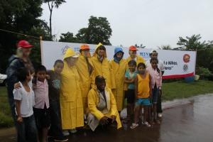 Burkina Faso, Bolivia, Canada and Nicaragua in the rain!